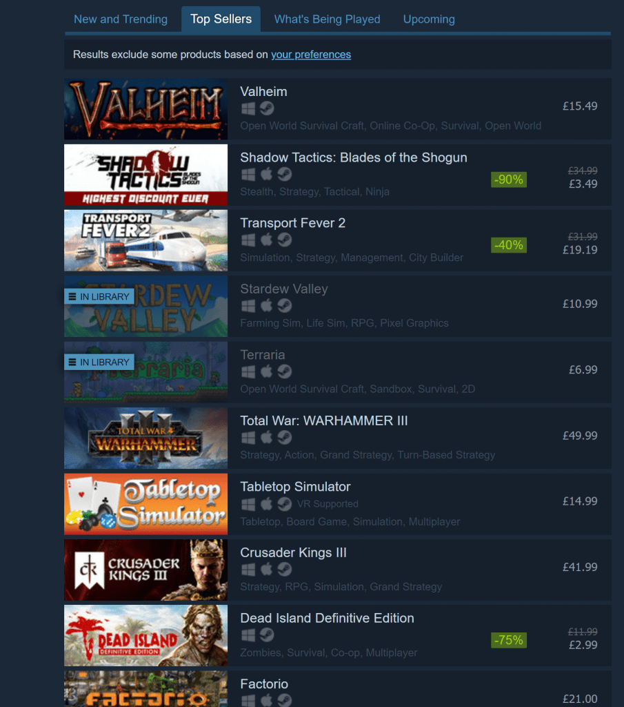 steam games for linux mint