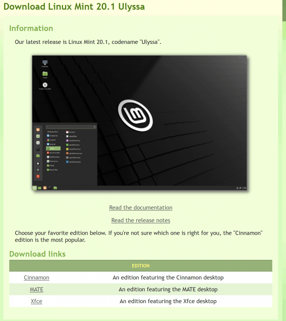 install linux mint on pc 2021