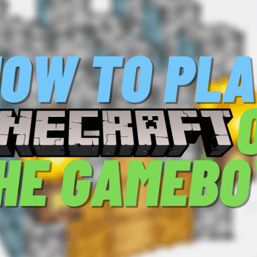 how to play minecraft on gameboy advance