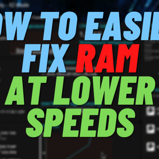 ram running slower than rated